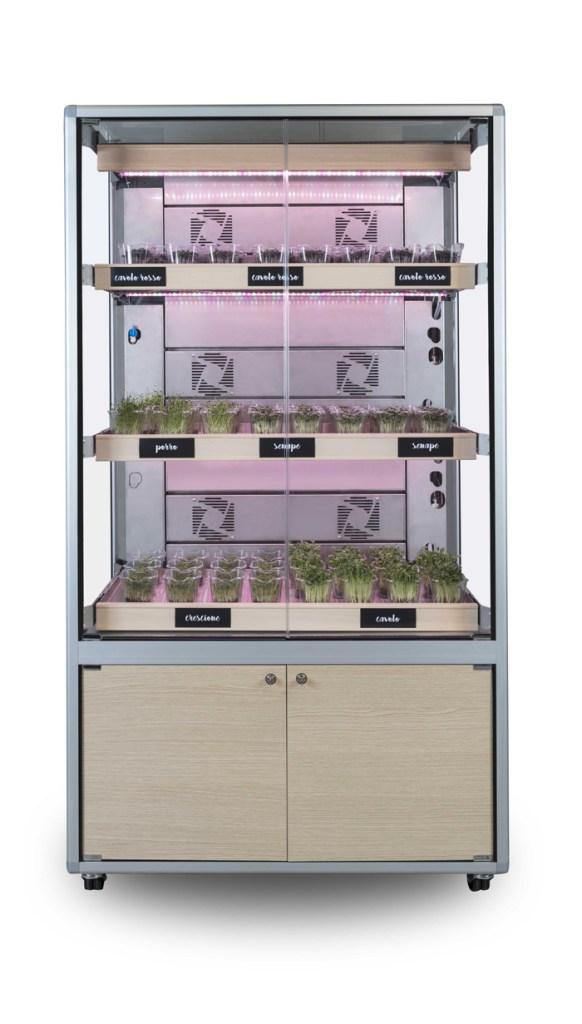 cefla & c-led with hugo neumann present a full plug and play grow unit