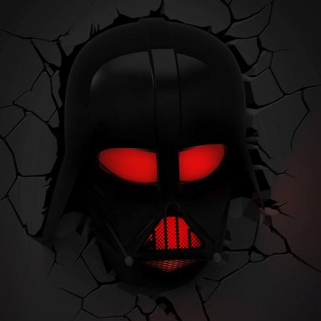 lampe 3d star wars dark vador