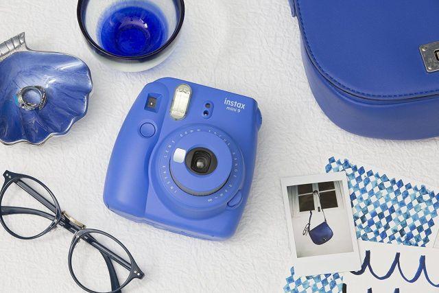 fujifilm instax mini 9 bleu