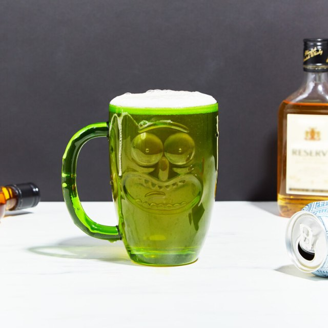 verre pickle rick biere