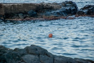 Lonely swimmer - Catania, Sicily