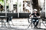 Waiting for a coffee - Lisbon