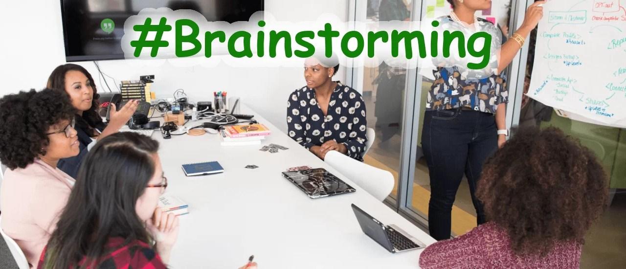 Lluvia de ideas o brainstorming.