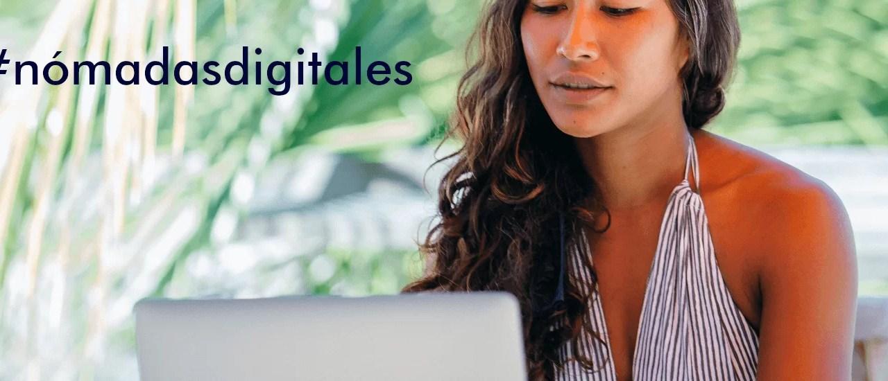 Jóvenes nómadas digitales