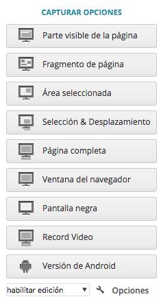 Panel seleccion Nimbus