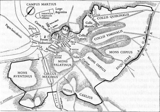 Róm í upphafi