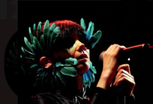 Björk í Verona 2003