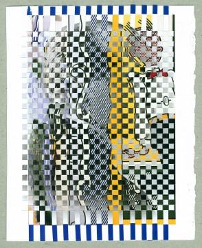 Kees Visser Mondlicht - Mondrian Lichtenstein