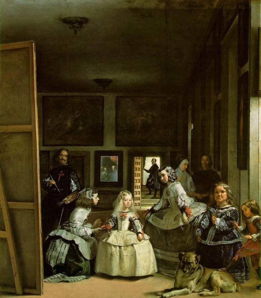 velazquez Las meninas 1656-8