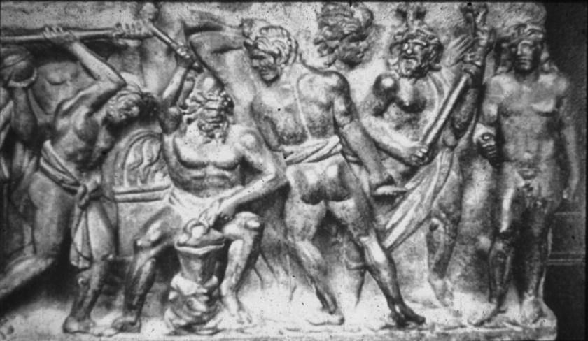Promeþeifur stelur eldi Vulcans Rómv grafþró svhv