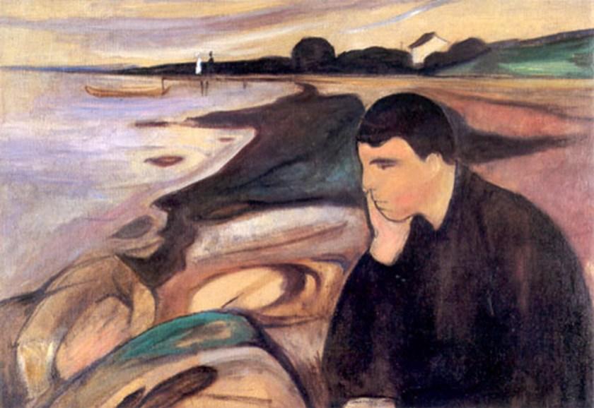 E Munch Melankoli 1891