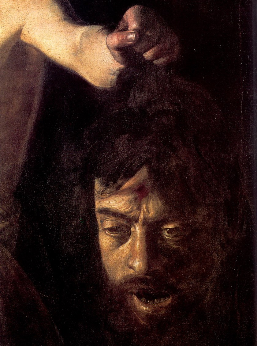 Caravaggio Golíat Borghese