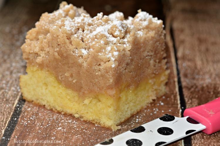 Shortcut Crumb Cake Hugs And Cookies Xoxo