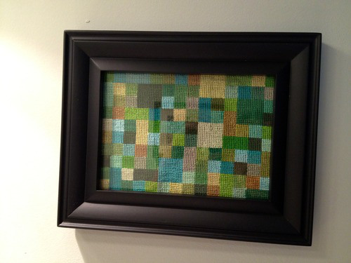 Geometric Cross Stitches from Hugs are Fun