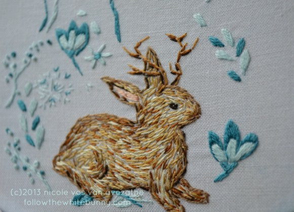 Jackalope by Follow the White Bunny