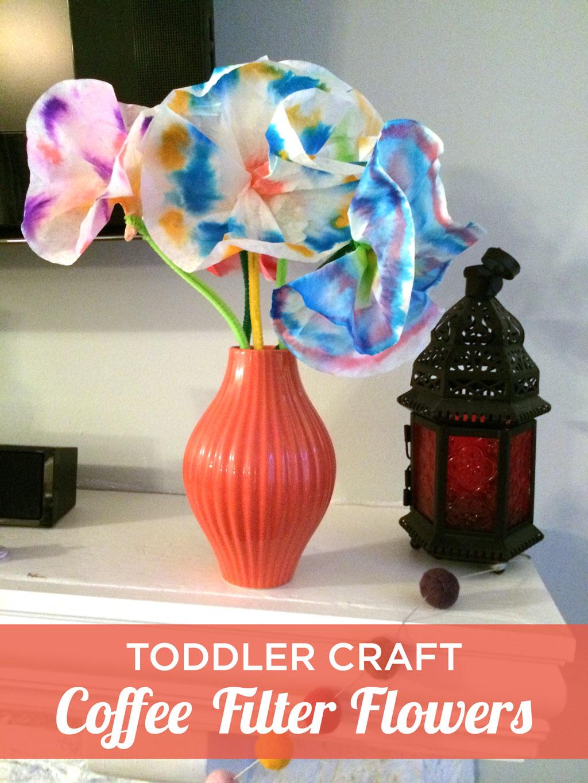 Coffee Filter Flowers Kids Craft Contributor My