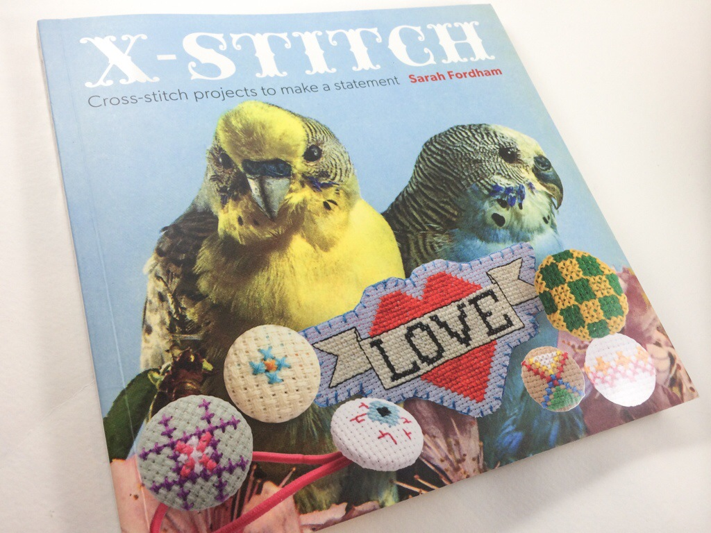 X Stitch Book Review by Hugs are Fun