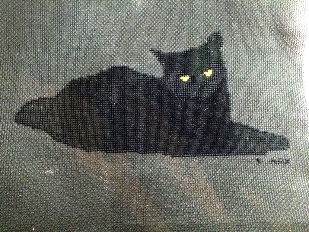 A Cross Stitch by Mr. X Stitch Himself!