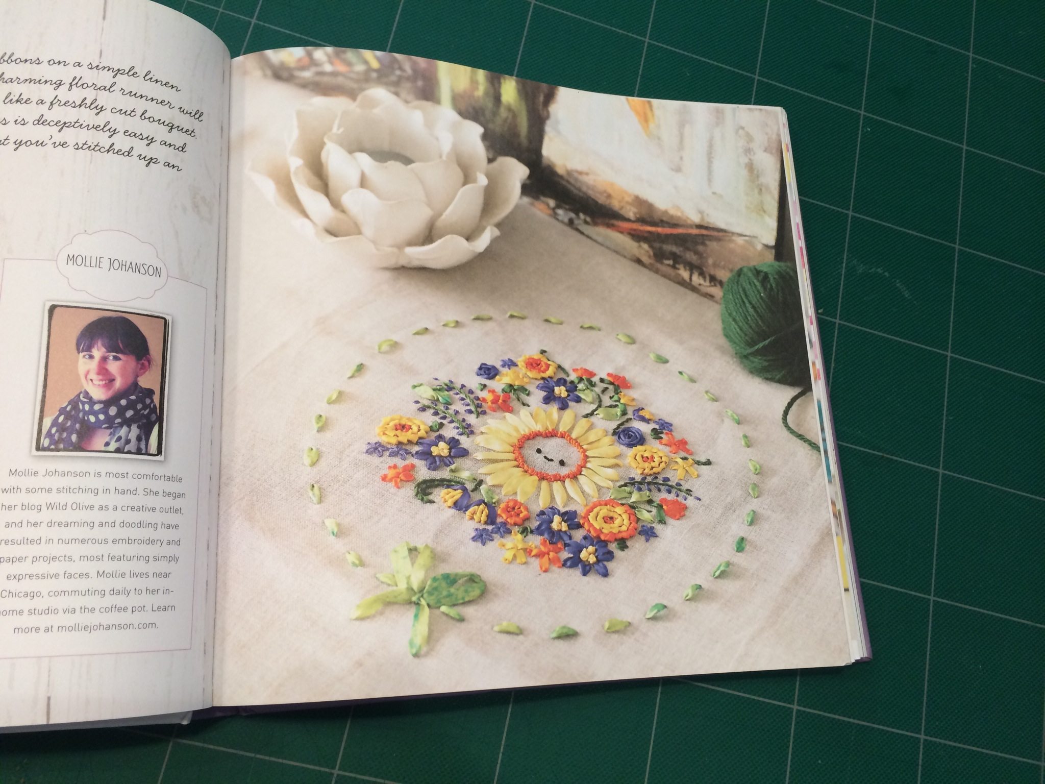Book Review - Mollie Makes: Embroidery by Hugs are Fun