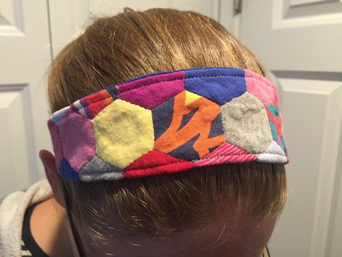 Hexagon Headband from Hugs are Fun