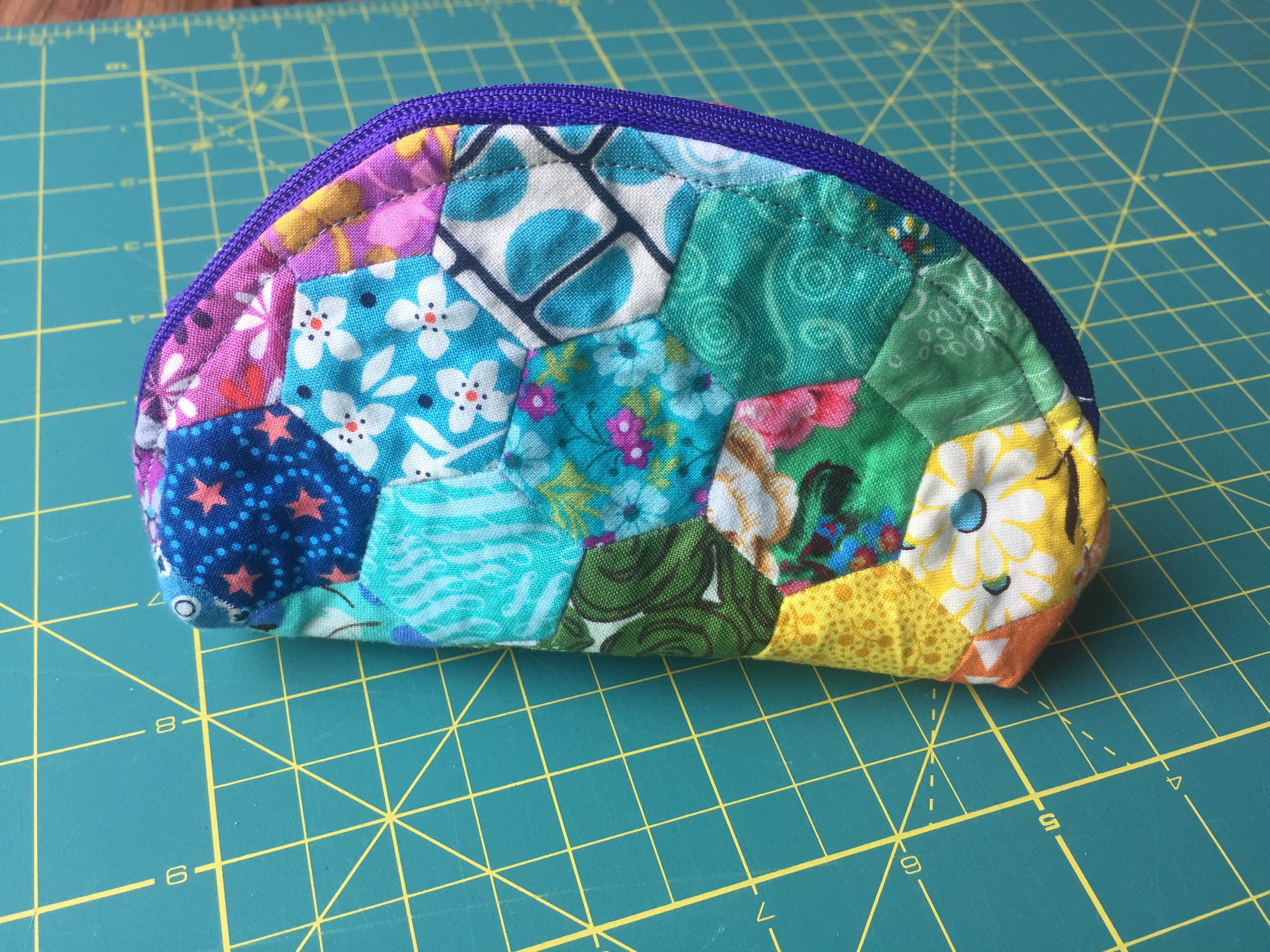 Another Rainbow Dumpling Pouch! from Hugs are Fun