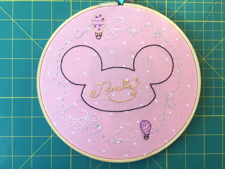 A Stitchy Baby Gift