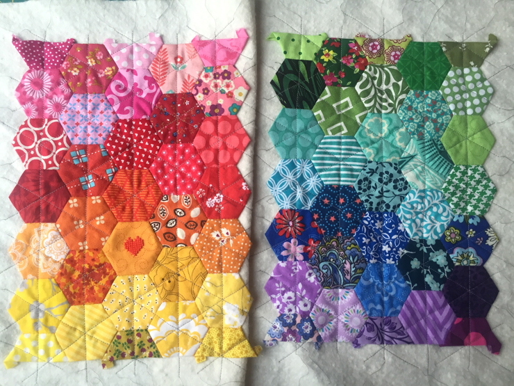 September TSNEM - Quilting with a Walking Foot from Hugs are Fun