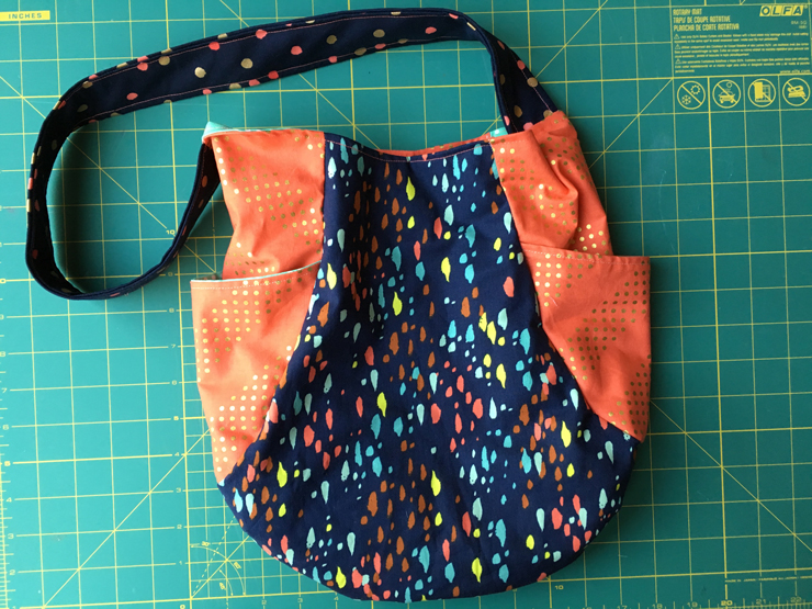 Sewing a Laser Cut Bag from Hugs are Fun