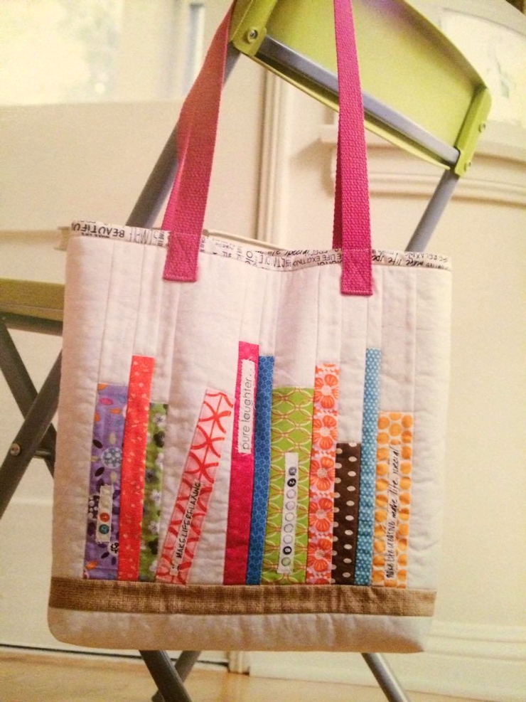 Bookshelf Tote Bag from Hugs are Fun