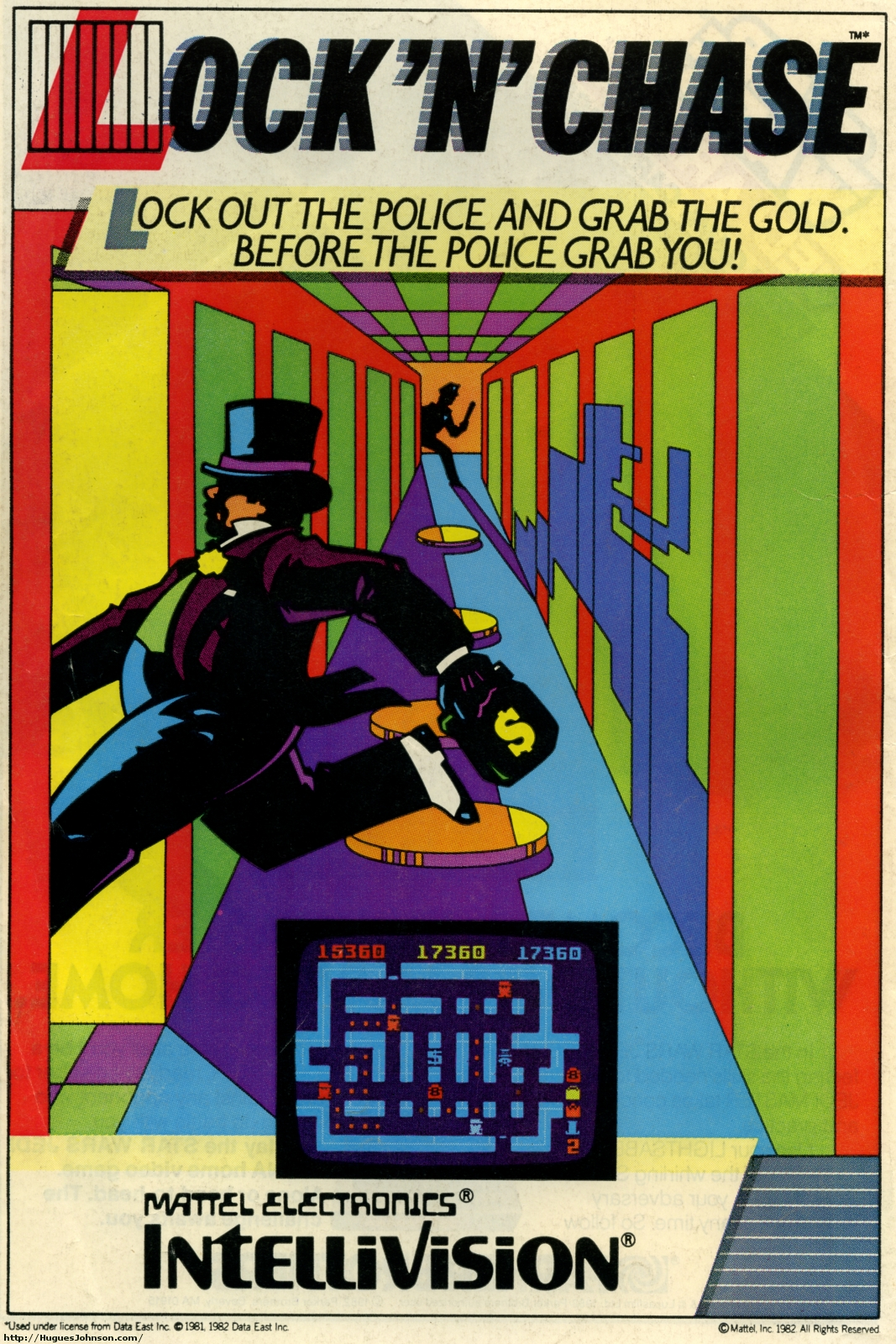 Huguesjohnson Com Atari And Intellivision Ads