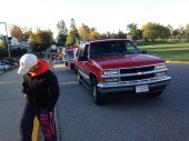 Homecoming Parade! Space Shuttle Theme!