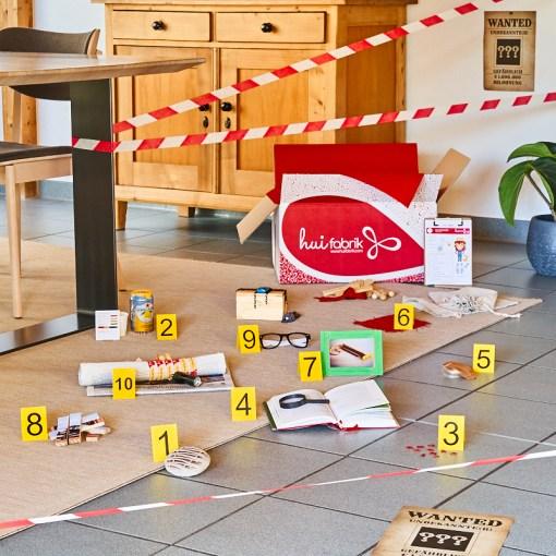 Tatort-Entdeckerbox für kleine Detektive