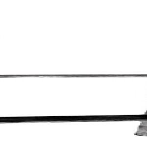 H-pergoladrager RVS tuinscherm carport 71mm