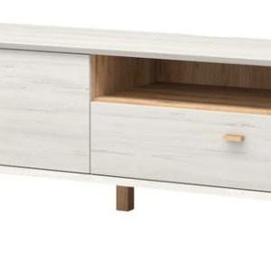 Tv-meubel Calvi 187 cm breed - Gebroken wit