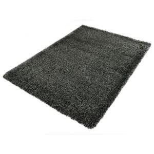 Vloerkleed Shaggy Deluxe 5533-90 Black-Melange 200 x 290 cm