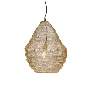 Oosterse hanglamp goud 45 cm - Nidum