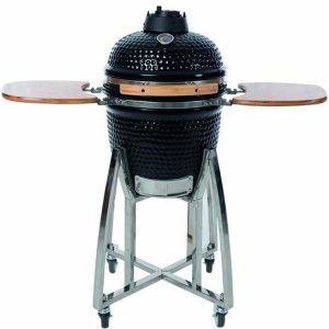 BBGrill: Keramische Kamado Barbecue ø46,5 cm - Zwart