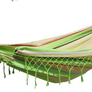 'Grenada' Cult Eénpersoons Hangmat - Groen - 123 Hammock