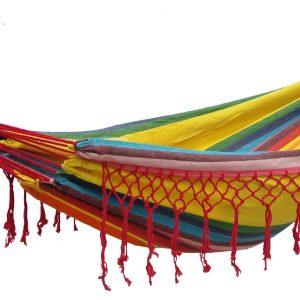 Hangmat Eénpersoons 'Grenada' Sunny - Veelkleurig - 123 Hammock
