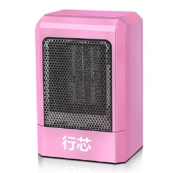 Home Speed Hot mini Heater Office Desktop kachel student slaapzaal kleine elektrische kachel specificatie: EU plug (roze)