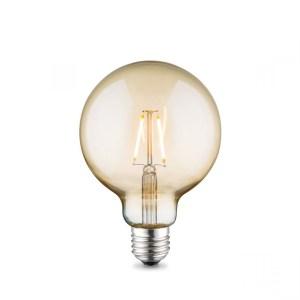 Home sweet home LED lamp Globe G95 E27 2W - amber