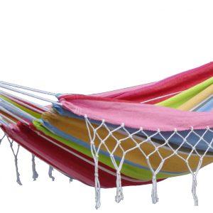 'Grenada' Orient Eénpersoons Hangmat - Veelkleurig - 123 Hammock