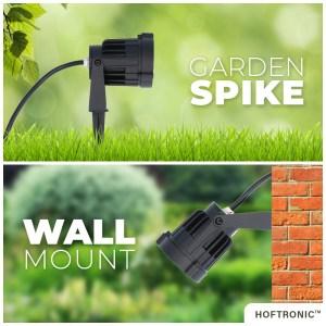 LED Prikspot Lenzo 10 Watt 3000K IP65 waterdicht zwart - Tuin spots, spots bodem buiten