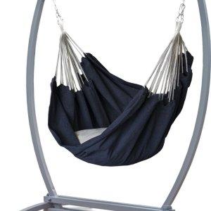Hangstoelstandaard met hangstoel - VERZINKT METAAL -Hangstoelset -Gazela