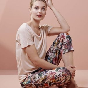 Essenza Essenza Ellen Uni Top Short Sleeve Rose XL