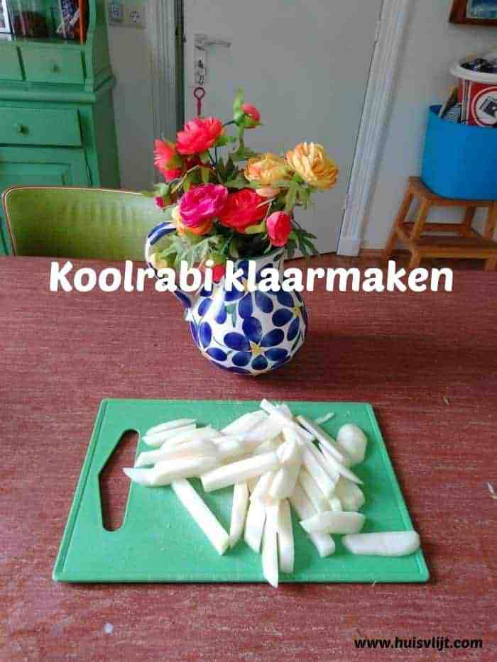 koolrabi koken