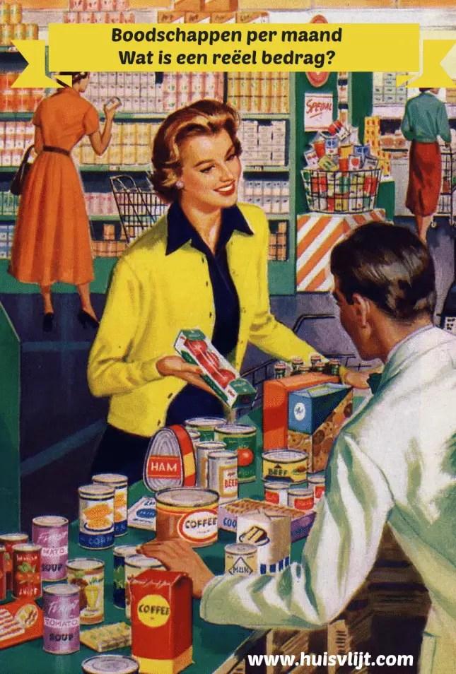 Kosten boodschappen per maand: wat is reëel?