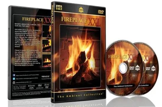 dvd brandend haardvuur