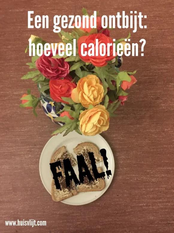 ontbijt calorieën