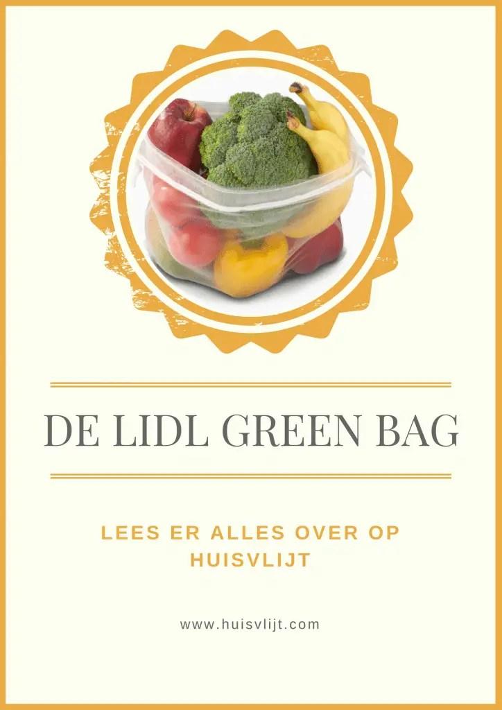 Lidl green bag: alternatief voor plastic zakjes voor groente en fruit